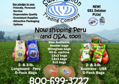 Now Shipping Peru Ad